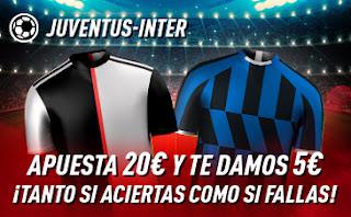 sportium Promocion Juventus vs Inter 1 marzo 2020