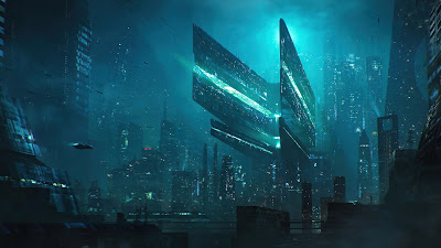 Scifi HD Wallpaper City Buildings Concept