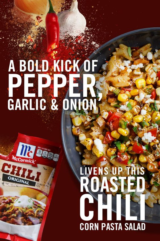 ROASTED CHILI CORN PASTA SALAD #recipes #salsa #salsarecipe #food #foodporn #healthy #yummy #instafood #foodie #delicious #dinner #breakfast #dessert #lunch #vegan #cake #eatclean #homemade #diet #healthyfood #cleaneating #foodstagram