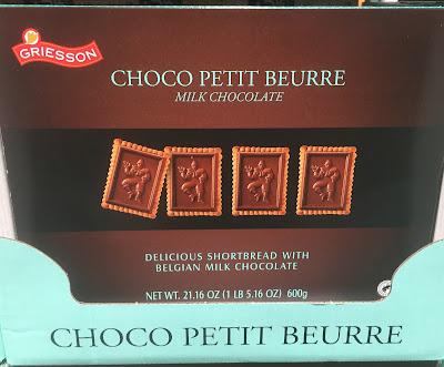 Enjoy a snack of Choco Petit Beaure Milk Chocolate Shortbread Cookies
