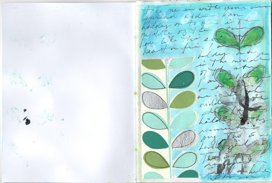 Journal 03: Patterns and Oil Pastels