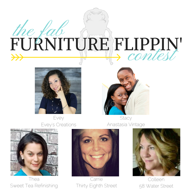 The Fab Furniture Flippin' Contest Gals