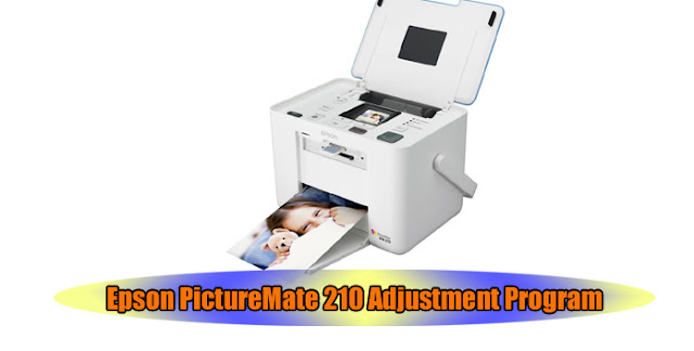 Epson PictureMate 210 Printer Adjustment Program