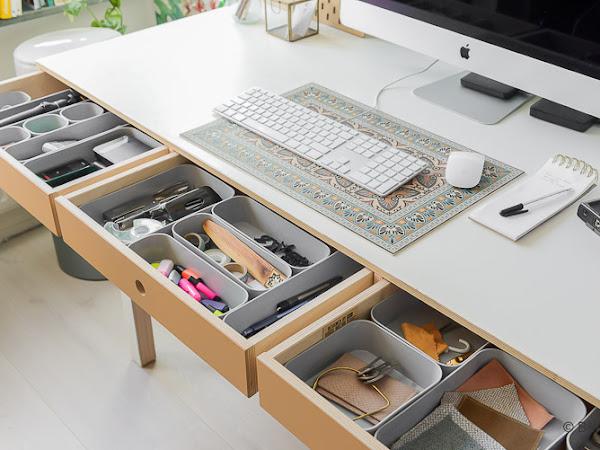 ¿Cómo organizar tu espacio de trabajo?