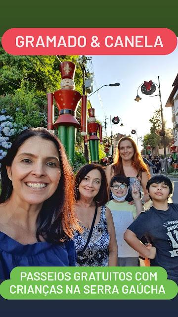 Gramado e Canela: passeios gratuitos com crianças