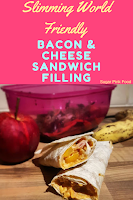 Slimming world bacon cheese sandwich filling  recipe