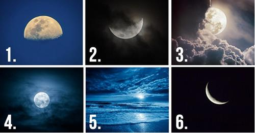 Choose A Moon, And It Will Reveals Your Hidden Thoughts