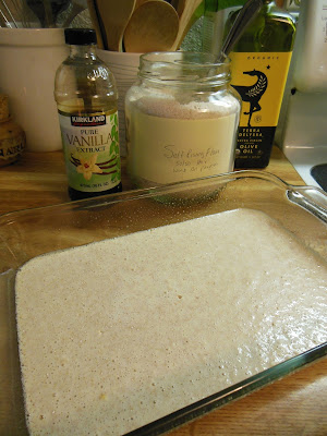 Easy Oven Baked Pancakes made with homemade self rising flour.