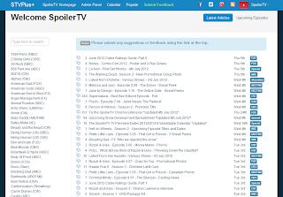 The SpoilerTV: banco de dados de episódios e classificações 3