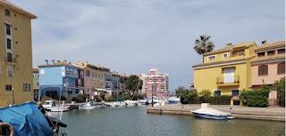 Puerto Saplaya de Alboraya, la pequeña Venecia Valenciana.