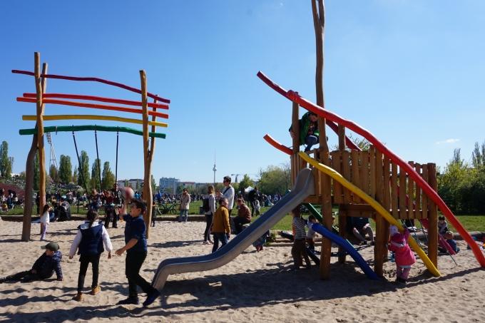 Berliinin leikkipaikat ja leikkipuistot - Mauerpark