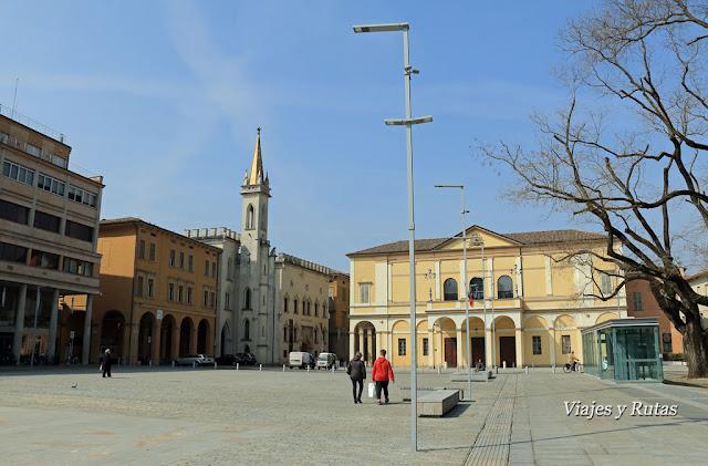 Plaza de la Victoria, Reggio Emilia, Italia