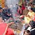 साईं मंदिर में कराया पांच कुण्डीय गायत्री महायज्ञ