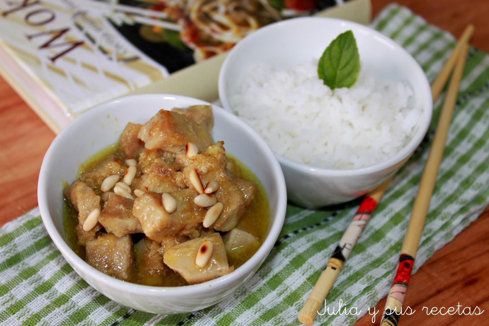 Cerdo al curry chino. Julia y sus recetas