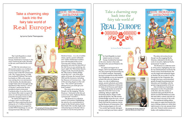 Paper Dolls of Old Europe