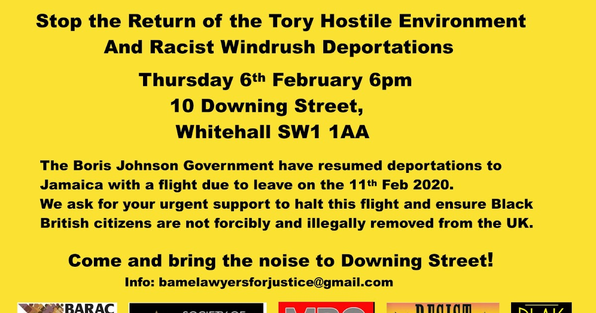 Mass deportation flight to Jamaica on the 30th anniversary of the release from prison of Nelson Mandela