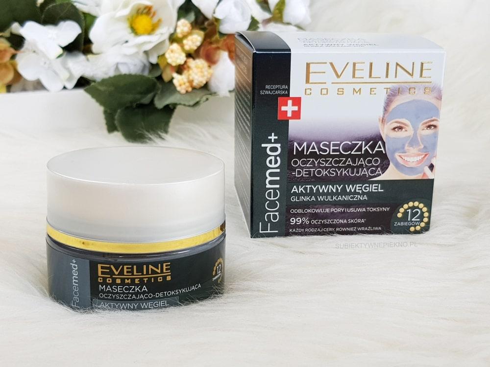 Eveline Facemed+ maseczka oczyszczająco detoksykująca z węglem aktywnym