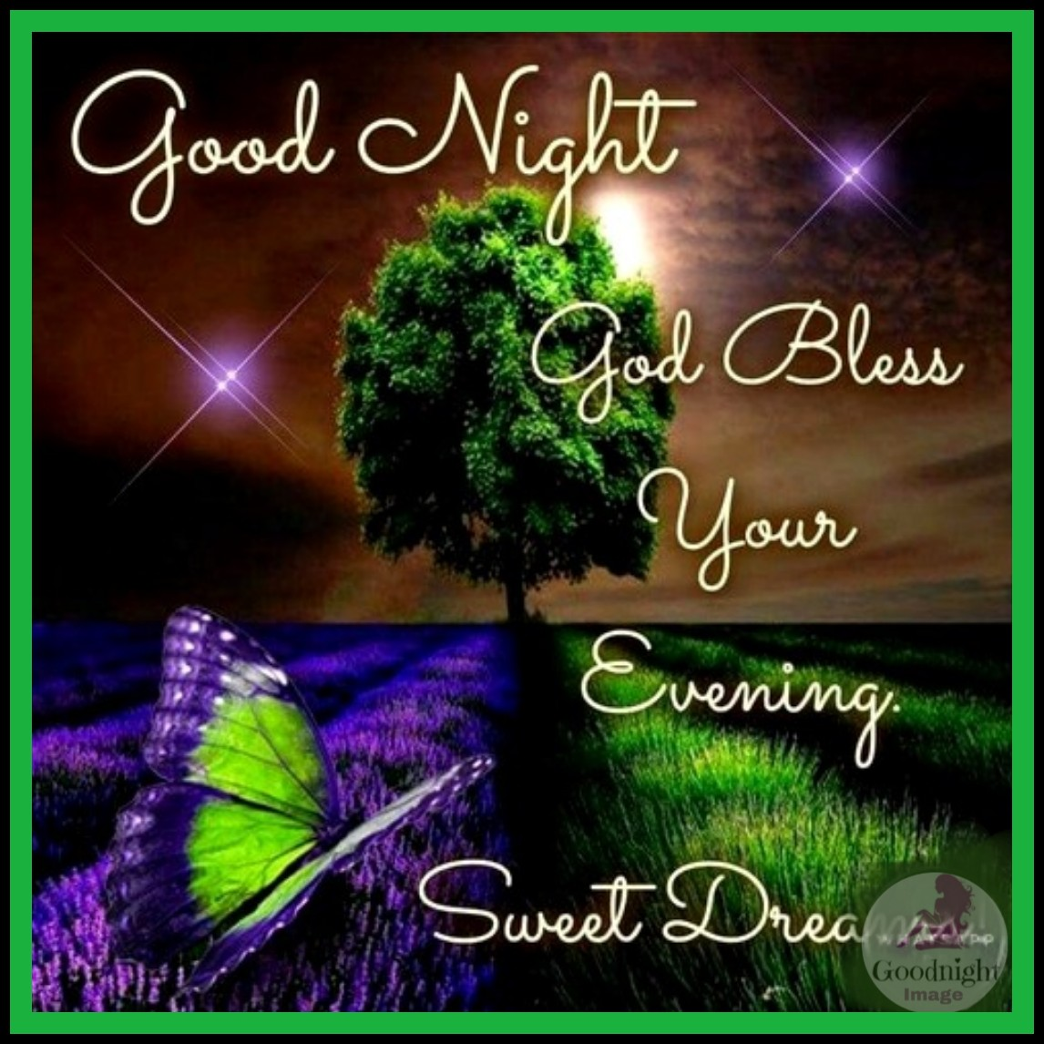 Positive Thoughts Of Good Night HD Image With Quotes