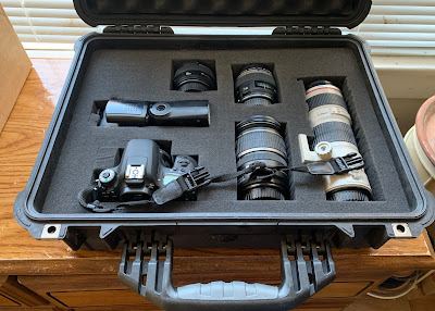 Pelican 1520 case with camera equipment