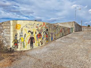 Juzbado, Salamanca, Arte mural, Sirinx