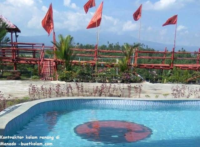 Kontraktor kolam renang di Manado