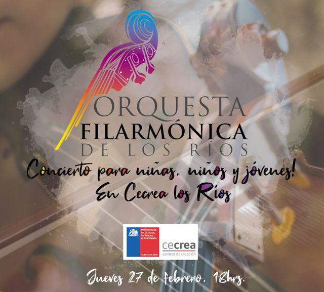 Concierto de la Orquesta Filarmónica de Los Ríos