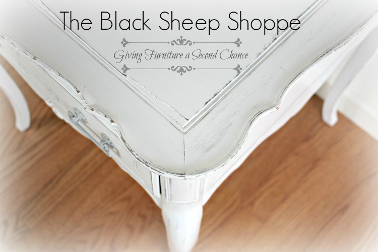 The Black Sheep Shoppe: Giving furniture a second chance!