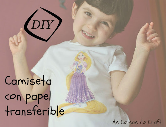 DIY - Camiseta con papel transferible