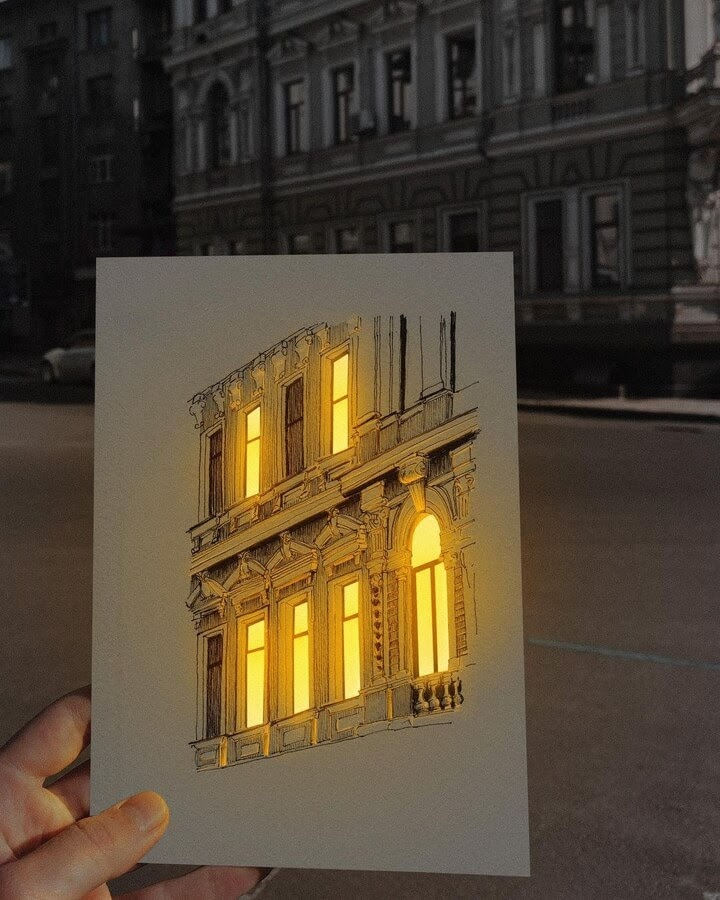 07-Drawing-illuminated-in-real-life-Никита-www-designstack-co