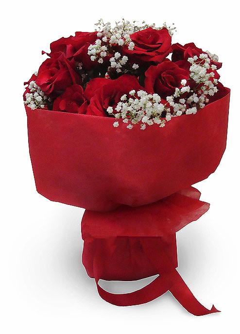 Hand Bouquet Mawar Merah