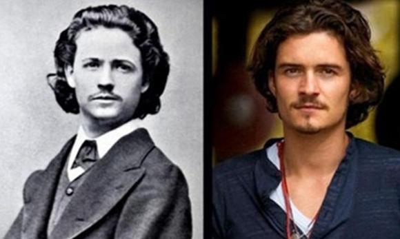Pessoas parecidas de épocas diferentes