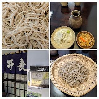 Matsumoto Restaurants: Soba at Soba Nomugi