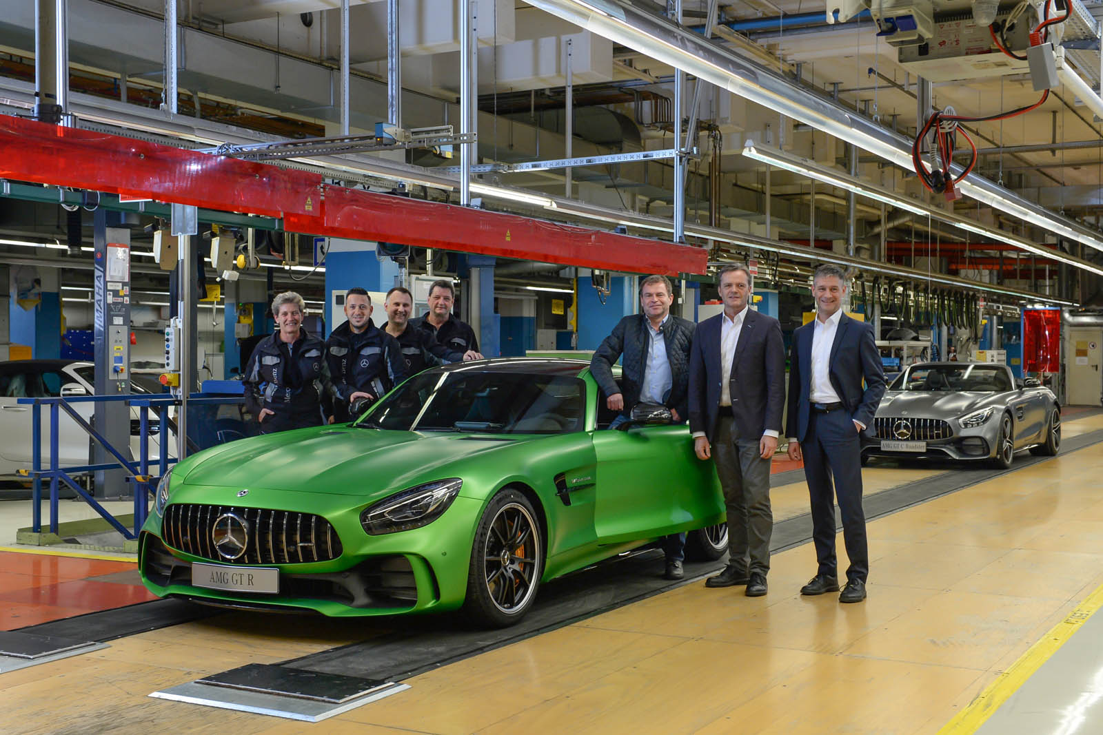 Mercedes Starts Cranking Out New AMG GT, GLA | Carscoops  Sindelfingen