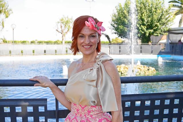Look de boda; Fatima Ángulo y Carmen Navarro