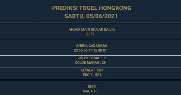 3 - PREDIKSI HONGKONG 05 JUNI 2021