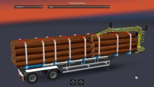 Iron Pipes, Logs and Lumber trailer pack