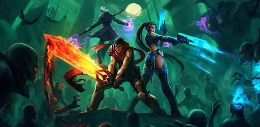 Shadow Knight: Deathly Adventure RPG كان عالم هارمونيا الجميل والمشرق أرضًا تعيش فيها أعراق مميتة بما في ذلك الإنسان ، أوندد ، أورك ، الروح ، القزم ، رجل الوحش ، العفريت ، إلخ