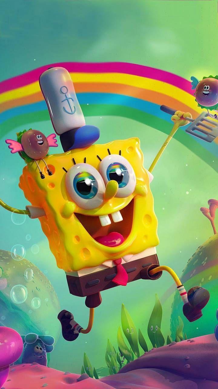 Gambar Spongebob Lucu