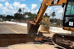 Governo inicia obra de recuperação da cabeceira da ponte de Riachuelo