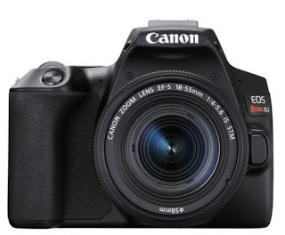 Canon introduced the recordable, lightweight EOS 250D digital camera.
