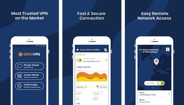 أفضل تطبيق VPN للأندرويد OpenVPN Connect
