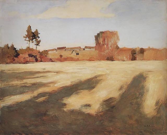 Исаак Ильич Левитан - Сжатое поле. 1897