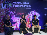 Kerennya TeamLab Future Park and Animals of Flower, Symbiotic Lives Jakarta