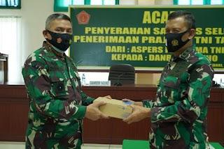 Peduli Pemuda Sultra, Mabes TNI Kirim Alat Uji di Korem Kendari