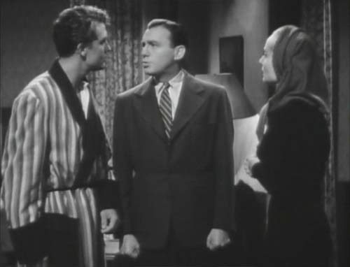 Robert Stack, Jack Benny, Carole Lombard in To Be or Not to Be