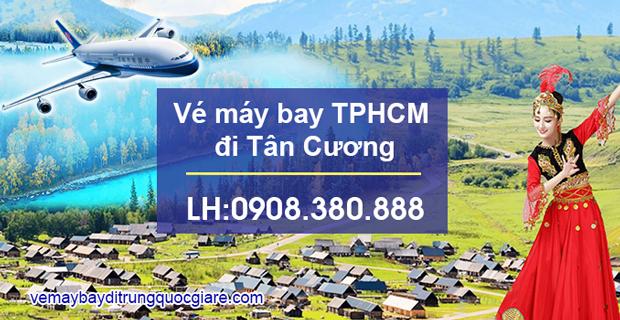 Vé máy bay TPHCM đi Tân Cương