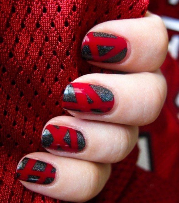 Nail Art With Good Color Combinations