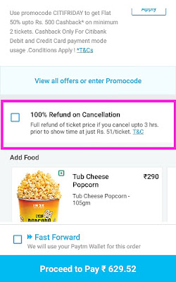 How to cancel Paytm movie tickets | 2019