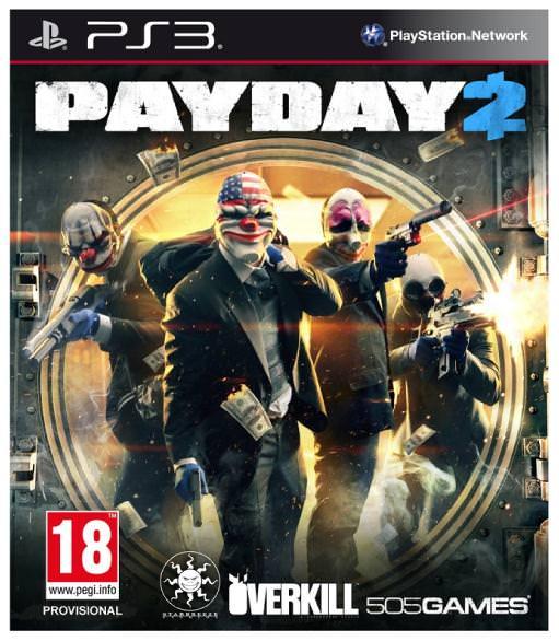 تحميل لعبة الأكشن لبلاي ستيشن Payday 2 PS3