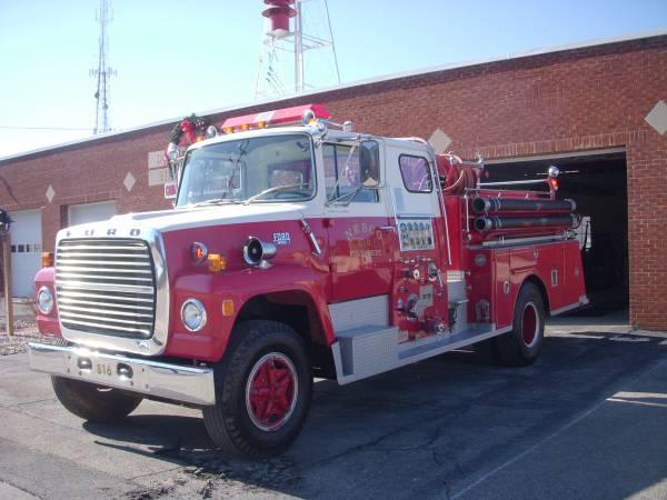 Craigslist fire truck